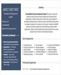business resume sample free u0026 premium templates
