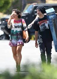 bed bath and beyond tower fan stella hudgens out shopping at bed bath beyond in los angeles 06 25