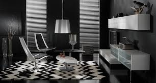 Black And White Chair by Dramatic Black Ideas For Painting A Living Room Ifresh Design