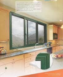 fenetre coulissante cuisine fenêtres alu coulissante