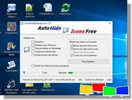 afficher les icones du bureau logiciel afficher masquer automatiquement les icones du bureau