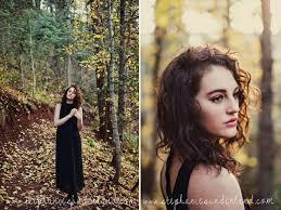 Photographers In Utah Fall Photo Shoot Black Maxi Dress Natural Curly Hair Pretty