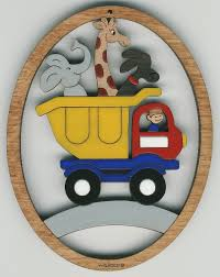 dump truck 324 14 95 wallace wood ornaments quality