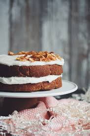 vegan carrot cake for food