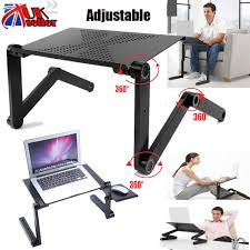 Laptop Desk Bed by Diy Adjustable Portable Laptop Table Stand Lap Lazy Sofa Bed Tray