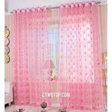 Baby Pink Curtains Baby Pink Peacock Discount Overstock Best Curtains