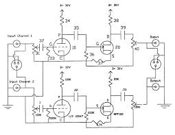 vacuum tube amplifier design wiring diagram components