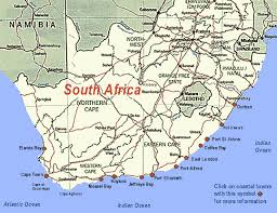 j bay south africa map sa towns gif