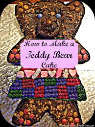 how to make a teddy bear cake ita vita