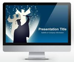 free widescreen education powerpoint template free powerpoint