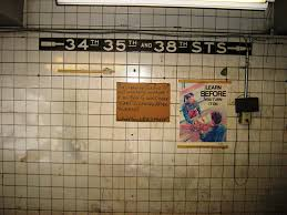 Hopstop Nyc Subway Map by Remembering Subway Passageways Lost To Time Second Ave Sagas