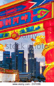 New Year Bay Decorations by Singapore Singapore Marina Bay River Hongbao Chinese New Year