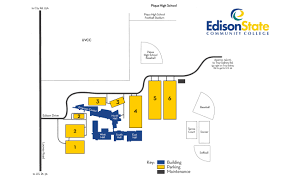 App State Campus Map by Maps Edison State Community College