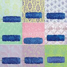 paint rollers with patterns interesting pattern paint roller for wall decoration images