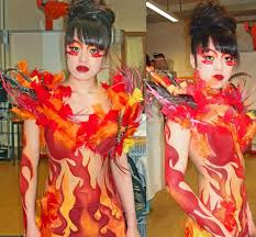 body painting halloween costumes fire goddess halloween costume ideas pinterest halloween