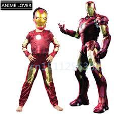 Kids Superhero Halloween Costumes 2015 Anime Cosplay Movie Iron Man Costume Kids Halloween