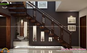 Inside Home Stairs Design House Interior Design Pictures Kerala Stairs