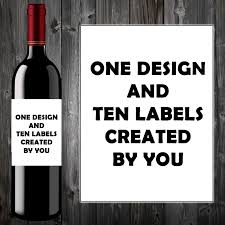 wine birthday personalised funny wine bottle label birthday christmas gift