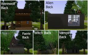 mod the sims supernatural starter homes