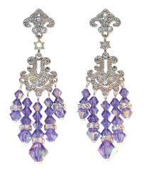 Gunmetal Chandelier Earrings Purple Chandelier Earrings 28 Images Tanzanite Chandelier