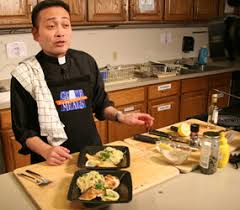 cuisine priest bobby flay throws challenge to cooking priest leo