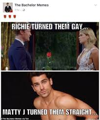 Bachelor Meme - internet explodes bachelor memes social media reactions