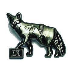 ingeniously cunning fox lapel pin associates ia