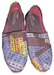 toms periodic table shoes toms multicolor periodic table women s vegan classics flats size us