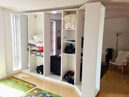 Best Wardrobe As Divider Images On Pinterest Architecture - Kids room divider ideas
