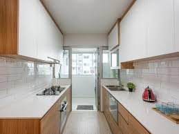 bto kitchen design hdb black sink white cabinets scandinavian faucet interior timber