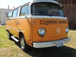 1977 vw bus type 2 original paint solid engine rebuilt for sale