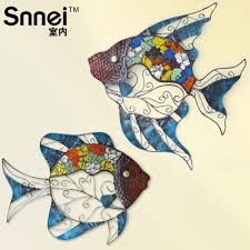 wall stickers fish promotion shop for promotional wall stickers indoor fish mural wall hangings wall decoration mediterranean style pendant wall stickers