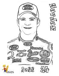 gordon coloringpages nascar at yescoloring nascar pinterest