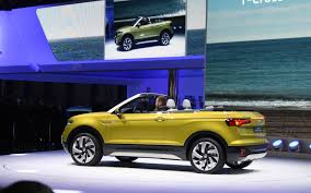 volkswagen geneva volkswagen t cross breeze makes world debut in geneva 3 19