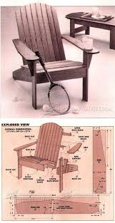 Rocking Chair Drawing Plan 511 Best Outdoor Furniture Images On Pinterest Wood Projects