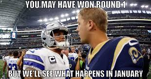 Rams Memes - dallas cowboys the best fan made memes from cowboys rams dak