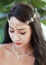 hair accessories for women missgrace bohemian women chain wedding