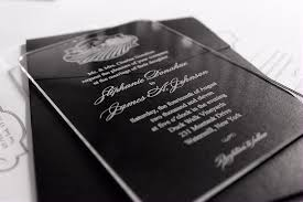 expensive wedding invitations custom and unique acrylic invitations common printing process in