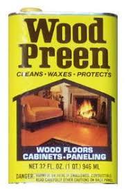 wood preen liquid floor wax