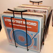 Metal Storage Shelves Vintage Lp Vinyl Record Metal Storage Rack Bin Crate Shelf 1960s