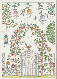 secret garden colouring book postcards secret garden colouring postcard colouring in