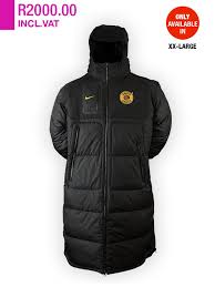 Bench Padded Jacket Xxl Kaizer Chiefs Bench Jackets U2013 Kaizer Chiefs Digi Store