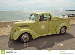Vintage Ford Pickup Truck - classic light brown ford pickup truck editorial image image