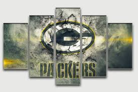 Green Bay Packers Bedroom Ideas Green Bay Packers Oil Painting Unframed Famous Home Wall Art