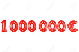 alphabet balloons alphabet balloons one million euros number and letter