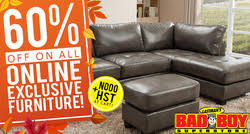 bad boy furniture kitchener bad boy superstore in kitchener weekly flyer and coupons