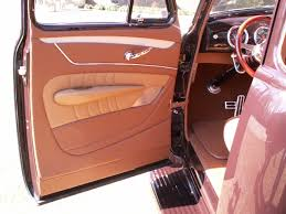 Chevy Truck Interior 1953 Chevrolet Truck Leather Custom Interior Interiors By Shannon