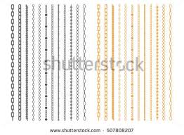 chain link necklace patterns images Golden chain graphics download free vector art stock graphics jpg