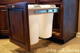 kitchen cabinet trash pull out ikea cabinet trash pull out the kitchen midlife in ikea pull out