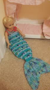 pattern infant baby doll size crochet mermaid tail snuggle sack